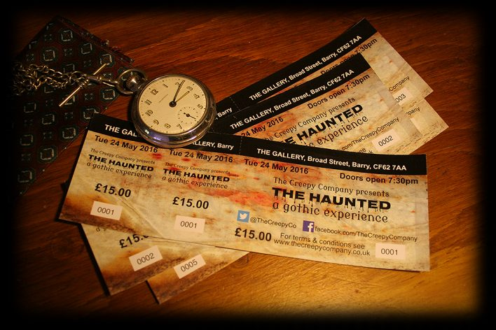 The Creepy Company presents THE HAUNTING - Tickets Now Available